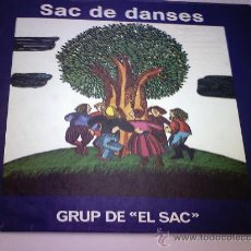 Discos de vinilo: LP. GRUP DE EL SAC - SAC DE DANSES 1977. Lote 28769330