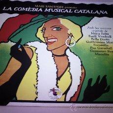 Discos de vinilo: LP. MARI SANTPERE - LA COMEDIA MUSICAL CATALANA 1979. Lote 28769374