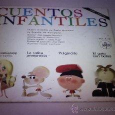 Discos de vinilo: LP. CUENTOS INFANTILES - 1968. Lote 153627928