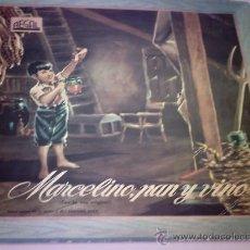Discos de vinilo: LP. MARCELINO PAN Y VINO - NARRACION 1958. Lote 28769817