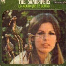 Discos de vinilo: THE SANDPIPERS - LO MUCHO QUE TE QUIERO - LP 1969. Lote 28774036