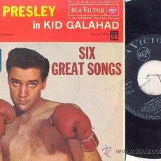 Discos de vinilo: ELVIS PRESLEY - KID GALAHAD - EP ESPAÑOL DE VINILO - 1ª EDICION. Lote 28775234