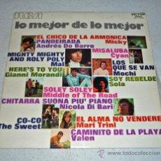 Discos de vinilo: LP DISCO VINILO . LO MEJOR DE LO MEJOR. Lote 28777242