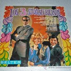 Discos de vinilo: LP DISCO VINILO . LOS 3 SUDAMERICANOS. Lote 28777488