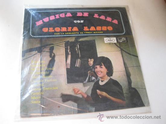 LP MUSICA DE LARA CON GLORIA LASO (Música - Discos - LP Vinilo - Solistas Españoles de los 50 y 60)