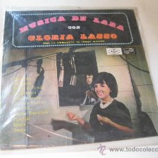 Discos de vinilo: LP MUSICA DE LARA CON GLORIA LASO. Lote 28779197