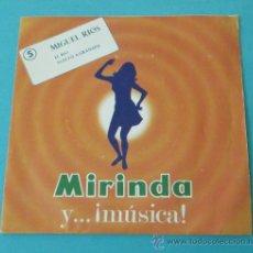 Discos de vinilo: MIGUEL RIOS. EL RIO. VUELVO A GRANADA. DISCO REGALO MIRINDA. Lote 28795445