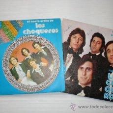 Discos de vinilo: LOS CHOQUEROS - MARIA JESUS - EL MEDALLON - LOTE 2 SINGLES MARFER 1975 - 76 EXCELENTE ESTADO. Lote 28785064