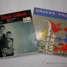 Discos de vinilo: LOS CINCO LATINOS - COME PRIMA - CACHITO - LOTE 2 EPS FONTANA 1958 - 59 EXCELENTE ESTADO. Lote 28785082