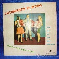 Discos de vinilo: CALEIDOSCOPIO DE RITMOS -LOUIS CORCHIA- LP 1965 DISCORAMA SPANISH. Lote 28785418