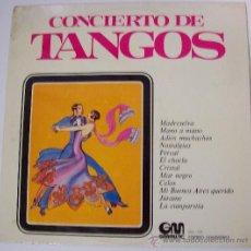Discos de vinilo: LP CONCIERTO DE TANGOS. Lote 28808751