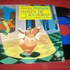 """Discos de vinilo: FANTASIA BSO OST STOKOWSKI / PONCHIELLI 7"""" EP 1960 DISNEYLAND SPAIN DISNEY. Lote 28814052"""