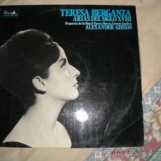 Discos de vinilo: TERESA BERGANZA LP ARIAS DEL SIGLO XVIII 1974 DECCA ACE DIAMONDS SPA ALEXANDER GIBSON. Lote 28818705
