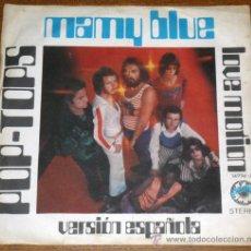 Discos de vinilo: POP-TOPS - MAMY BLUE (VERSION ESPAÑOLA). Lote 28819102