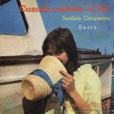Discos de vinilo: LOS PAJAROS LOCOS - CUANDO CALIENTA EL SOL - IBEROFON 1962. Lote 28819459