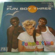 Discos de vinilo: THE FUN BOY THREE ( SUMMERTIME - SUMMER OF '82 ) 1982-HOLANDA SINGLE45 CHRYSALIS. Lote 28819942