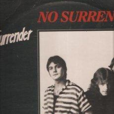 Disques de vinyle: SURRENDER NO SURRENDER. Lote 28830599