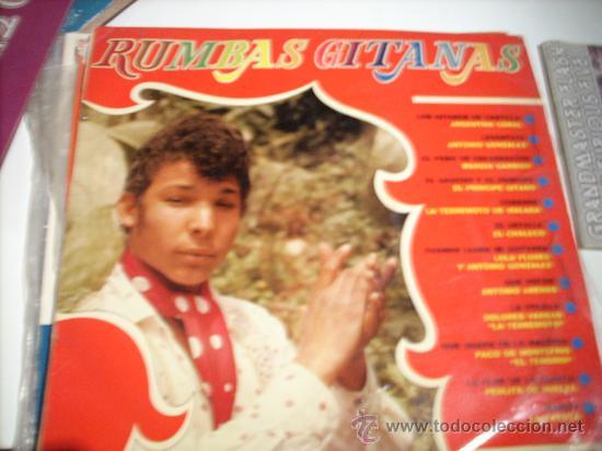RUMBAS GITANAS: ARGENTINA CORAL, ANTONIO GONZALEZ, EL CHALECO..... (BELTER, 1969) (Música - Discos - LP Vinilo - Flamenco, Canción española y Cuplé)