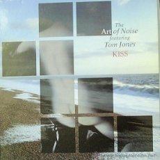 Discos de vinilo: THE ART OF NOISE FEATURING TOM JONES-KISS MAXI SINGLE VINILO 1988 SPAIN. Lote 28843089