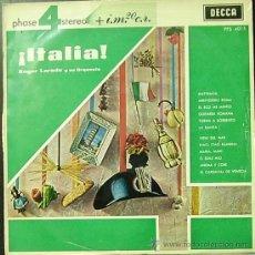 Discos de vinilo - ROGER LAREDO Y SU ORQUESTA-ITALIA LP 1963 SPAIN - 28843234