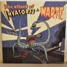Discos de vinilo: INVASORES DE MARTE - THE ATTAK OF... ( PORTADA COMIC MAX ) SENSACIONAL GARAGE-SIXTIE DESDE MALLORCA. Lote 86736954