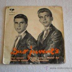 Discos de vinilo: DUO JUVENT'S - CIAO AMORE + 3 EP 1963. Lote 163789413