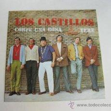 Discos de vinilo: SINGLE DE LOS CASTILLOS - CORTE UNA ROSA - TERE - 1969. Lote 28856643
