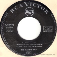 Discos de vinilo: THE DIAMOND BOYS - POPOTITOS + 3 (EP DE 4 CANCIONES) RCA 1963 - VG++. Lote 28859155