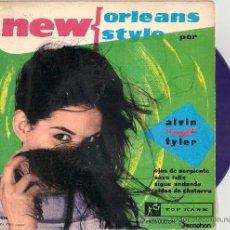 Discos de vinilo: ALVIN RED TAYLOR - SNAKE EYES + 3 (EP DE 4 CANCIONES) DISCOPHON 1960 - VINILO AZUL! VG++/VG+. Lote 28859301