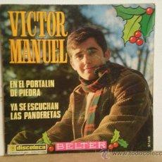 Discos de vinilo: VICTOR MANUEL. Lote 28860745