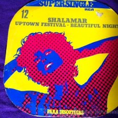 Discos de vinilo: SHALAMAR : UPTOWN FESTIVAL, BEAUTIFUL NIGHT. MAXI SINGLE 12. Lote 28861266