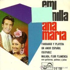 Discos de vinilo: EMI BONILLA Y ANA MARIA EP SELLO ZAFIRO AÑO 1966 (PROMOCIONAL).. Lote 28862801
