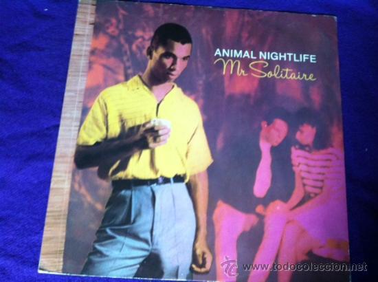 ANIMAL NIGHTLIFE : MR SOLITAIRE . MAXI SINGLE 12 (Música - Discos de Vinilo - Maxi Singles - Pop - Rock - New Wave Internacional de los 80)