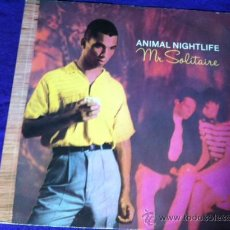 Discos de vinilo: ANIMAL NIGHTLIFE : MR SOLITAIRE . MAXI SINGLE 12. Lote 28862807