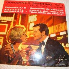 Discos de vinilo: DISCO SINGLE - JOHANNES FEHRING VOL.2, AÑO 1965.. Lote 28863912