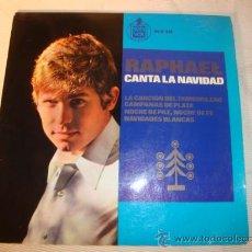 Discos de vinilo: DISCO SINGLE - RAPHAEL CANTA LA NAVIDAD, AÑO 1965.. Lote 28863943