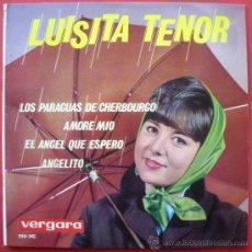 Discos de vinilo: LUISITA TENOR CHICA YE-YE ESPAÑOLA EP 1964 VERGARA 255-XC VERSION MICHEL LEGRAND - . Lote 28902299