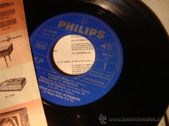 Discos de vinilo: DISCO SINGLE - ROCIO DURCAL, DISCO PROMOCIONAL DE FAMILIA PHILIPS, AÑO 1965. - Foto 5 - 28871673