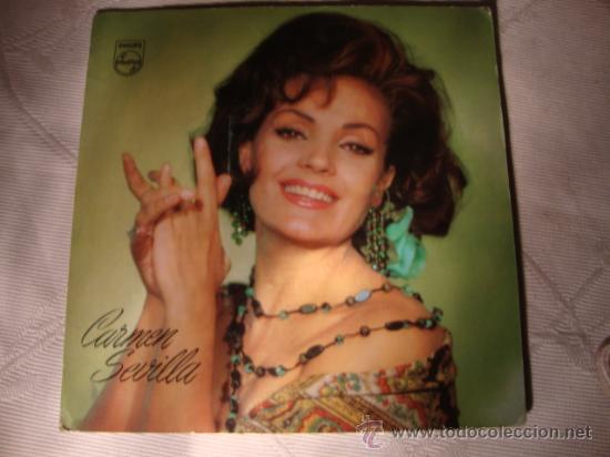 DISCO SINGLE - CARMEN SEVILLA, DISCO PROMOCIONAL DE LA FAMILIA DE PHILIPS, AÑO 1965. (Música - Discos - Singles Vinilo - Solistas Españoles de los 50 y 60)