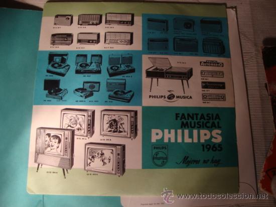 Discos de vinilo: DISCO SINGLE - CARMEN SEVILLA, DISCO PROMOCIONAL DE LA FAMILIA DE PHILIPS, AÑO 1965. - Foto 4 - 28871683