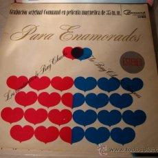 Discos de vinilo: DISCO LP - GRABACIÓN ORIGINAL PELÍCULA MAGNETICA 35 M.M. LOS CANTANTES DE RAY CHARLES, AÑO 1964.. Lote 28872219