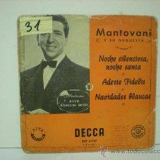 Discos de vinilo: MANTOVANI Y SU ORQUESTA. Lote 28875880