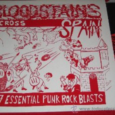 VA BLOODSTAINS ACROSS SPAIN * LP 1997 * PUNK KGB VULPESS DECIBELIOS TNT KANGRENA UVI PVP INTERTERROR