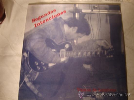 DISCO LP - GRUPO DE ELCHE SEGUNDAS INTENCIONES, VAMOS DE HOMBRES, AÑO 1991 (Música - Discos - LP Vinilo - Grupos Españoles de los 90 a la actualidad)
