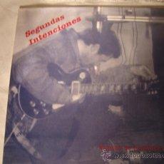 Discos de vinilo: DISCO LP - GRUPO DE ELCHE SEGUNDAS INTENCIONES, VAMOS DE HOMBRES, AÑO 1991. Lote 28885138