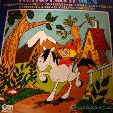 Discos de vinilo: DISCO LP - CUENTOS PARA TI VOL.2, LA BELLA DURMIENTE, GABANCITO, LA GALLINA MARCELINA, AÑO 1973.. Lote 28885384