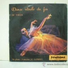 Discos de vinilo: MANUEL DE FALLA Y ALBENIZ - EDITADO EN FRANCIA. Lote 28889694