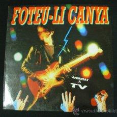 Discos de vinilo: FOTEU-LI CANYA. PICAP 1991. LP. ROCK CATALÀ. Lote 28891537