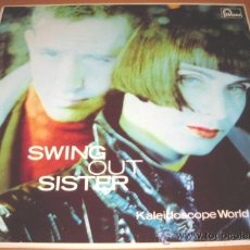 Discos de vinilo: SWING OUT SISTER - KALEIDOSCOPE WORLD - LP - FONTANA 1989 SPAIN 838293-1 - LETRAS. Lote 28924895