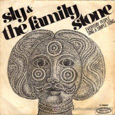 Discos de vinilo: SLY & THE FAMILY STONE ··· EVERYDAY PEOPLE / SING A SIMPLE SONG - (SINGLE 45 RPM). Lote 28898647